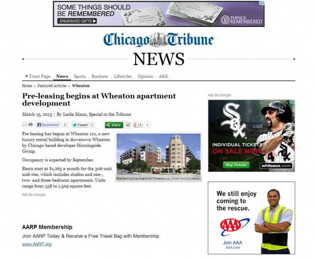 Chicago Tribune PreLeasing