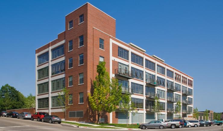 Ann Arbor luxury loft condominiums