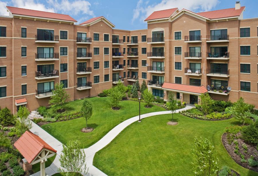 Elmhurst luxury condominiums